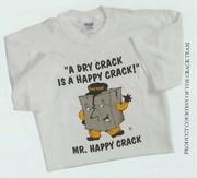 Mr. Happy Crack T-shirt