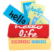Hello Life campaign used several promotional products