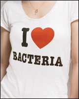 I Love Bacteria theme grabs attention for dietary supplements
