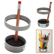 This unique pen and pencil holder will stop them in their tracks