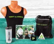 Trinity Combine gathered a lot of attention with their promotional products.