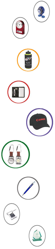 Variety of promotional products