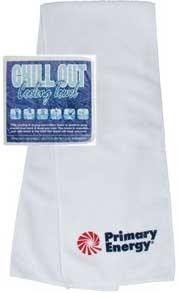 Cooling Towels are popular with sponsors