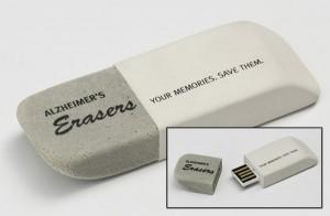 Eraser-shaped USB Drive