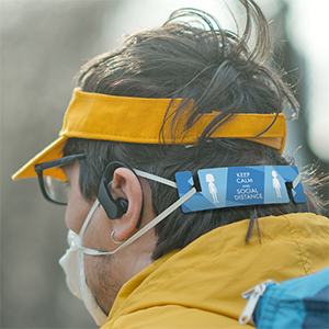 ear saver removes the irritation of mask straps