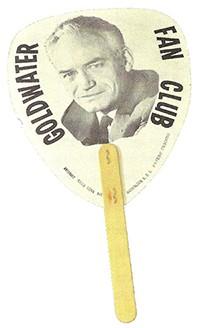 Goldwater hand fan
