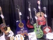 branded guitars.
