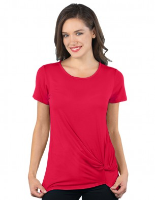 Knot-front T