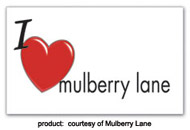 Mulberry Lane temporary tatoos