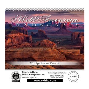 Spiral Bound Wall Calendar (Landscapes of America)