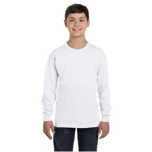 Gildan Youth Heavy Cotton? 5.3 oz. Long-Sleeve T-Shirt