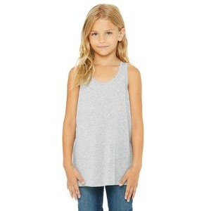 Color Image Apparel - Bella Youth Flowy Racerback Tank
