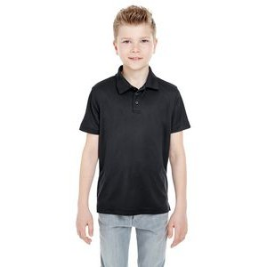ULTRACLUB Youth Cool & Dry Mesh Piqué Polo