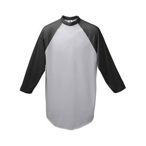 Augusta Youth 3/4-Sleeve Baseball Jersey