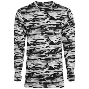 Augusta Youth Mod Camo Wicking Long-Sleeve T-Shirt
