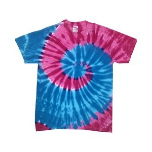 Tie-Dye Youth 5.4 oz., 100% Cotton Islands Tie-Dyed T-Shirt
