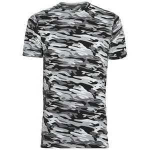 Augusta Youth Mod Camo Wicking Short-Sleeve T-Shirt
