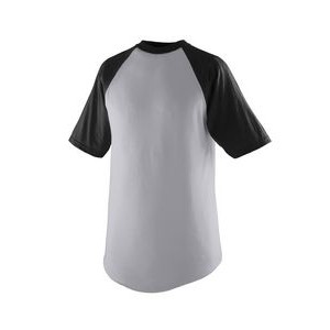 Augusta Youth Short-Sleeve Baseball Jersey