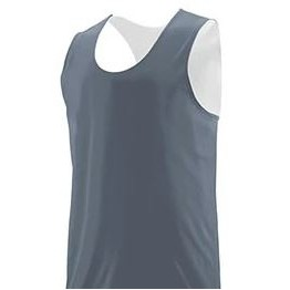 Augusta Youth Wicking Polyester Reversible Sleeveless Jersey