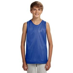 A-4 Youth Reversible Mesh Tank