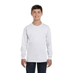Hanes Printables Youth 6.1 oz. Tagless® Long-Sleeve T-Shirt