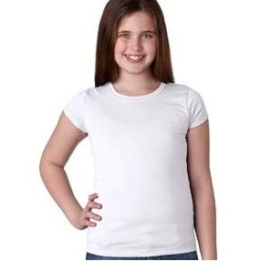 NEXT LEVEL APPAREL Youth Girls? Princess T-Shirt