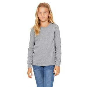 Canvas Youth Jersey Long-Sleeve T-Shirt