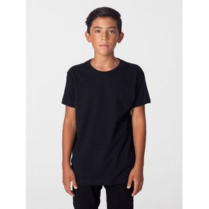 American Apparel Youth Organic Fine Jersey Short-Sleeve T-Shirt