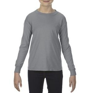 Comfort Colors Youth 5.4 oz. Garment-Dyed Long-Sleeve T-Shirt