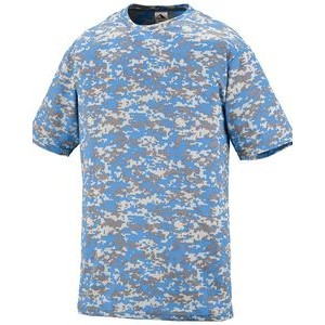 Augusta Youth Digi Camo Wicking Short-Sleeve T-Shirt