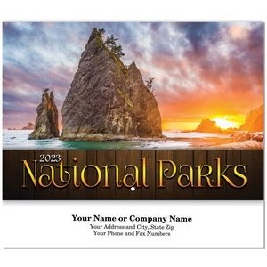 National Parks Stitched Wall Calendar