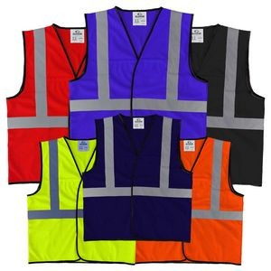 The Econo Work-Zone Safety Vest with Reflective Tape (non-ANSI)