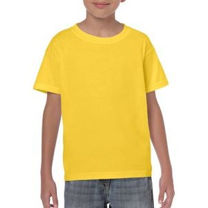 Gildan® Youth 5.3 Oz. Heavy Cotton Short Sleeve Tee Shirt