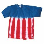 Dyenomite Youth USA Flag Tie Dye T-Shirt