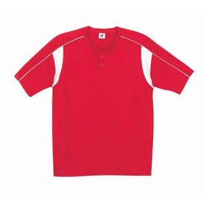 Badger Youth Pro Placket Jersey Shirt