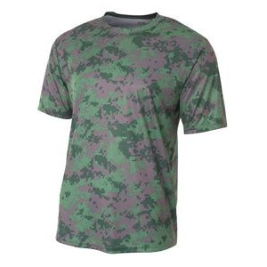 A4 Youth Camo Performance Tee Shirt