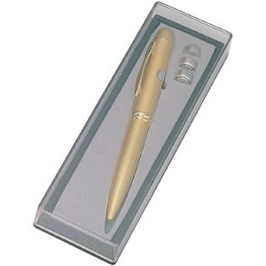 Gold Laser Pointer Pen