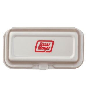 Hot Dog - Foam Hinged Deli Containers - The 500 Line