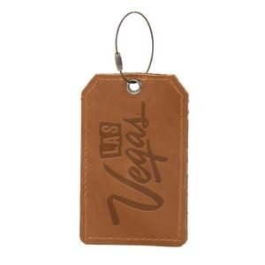 HOOPER Leather Luggage Tag