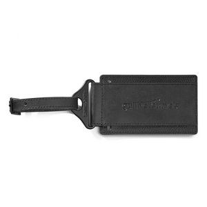 Samsonite Leather Luggage Tag - Black