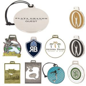 Custom Designed Metal Bag Tag