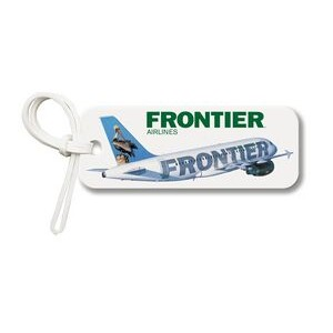 Bag & Luggage Tag - Rectangle w/Round Corners - Full Color