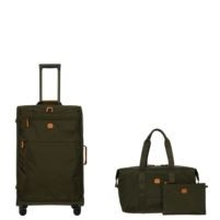 Bric's X-Bag X-Travel 30 inch Spinner Suitcase Set w/18 inch Folding Duffle Bag
