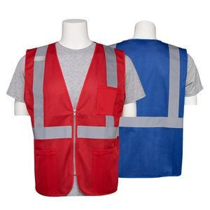Aware Wear® Non ANSI Reflective Safety Mesh Vest w/ Pockets