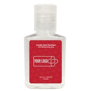 Hand Sanitizer Gel Square Bottle 0.5 fl oz