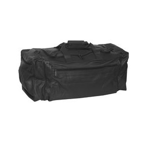 Sierra Leather Rectangular Duffel Bag
