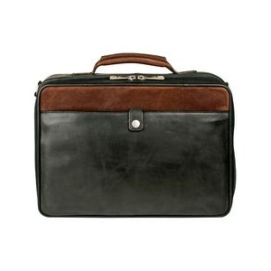 Hand Stained Calf Leather Travel Bag