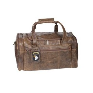 Antique Lamb Leather Duffel Bag