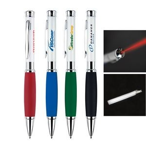 Metal Pen, Ballpoint pen, Twist action, Blue ink refill optional