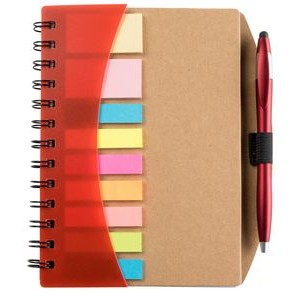 Ultra Notes Executive Spiral Notebook Journal w/ Pen